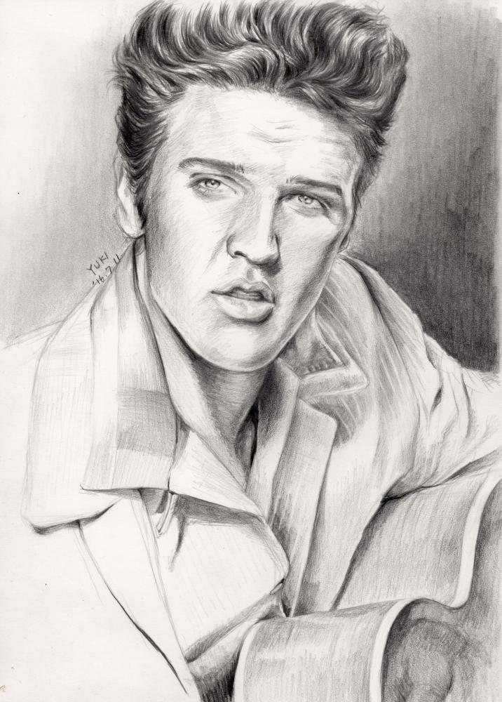 Elvis Presley by Yuki